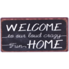 Welcome to our loud crazy fun home