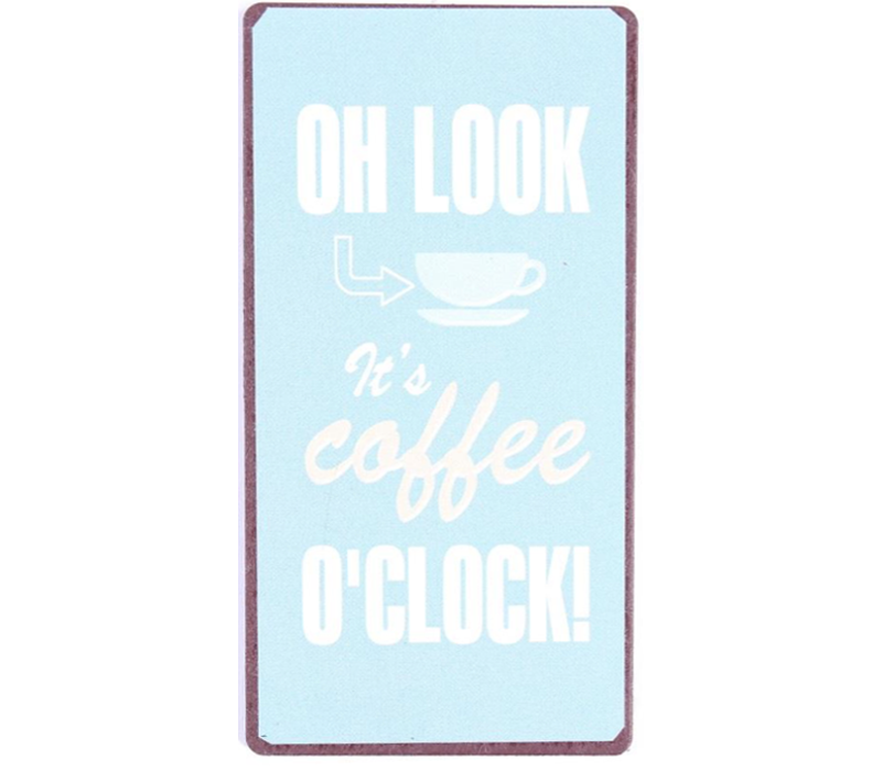 Oh look, It's coffee O'clock!
