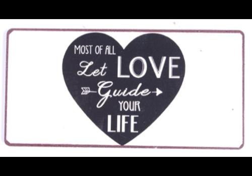 LET LOVE GUIDE