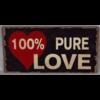 100% pure love