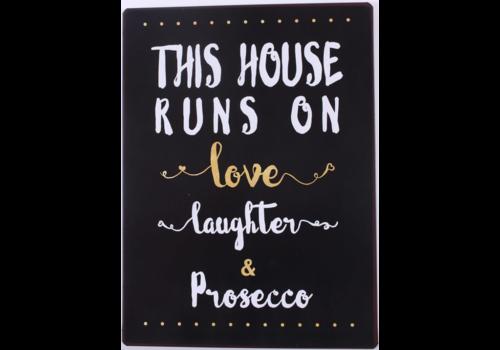 LOVE, LAUGHTER & PROSECCO