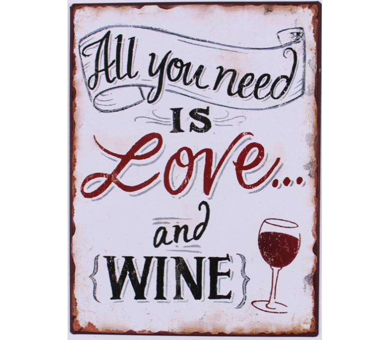 All you need is love & wine