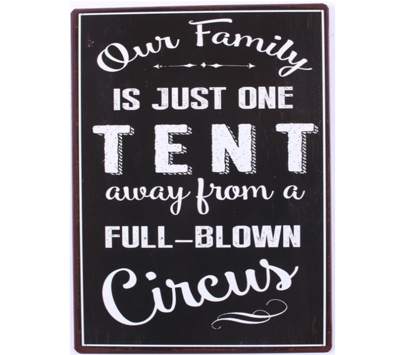 Our family is just one tent away from a full-blown circus