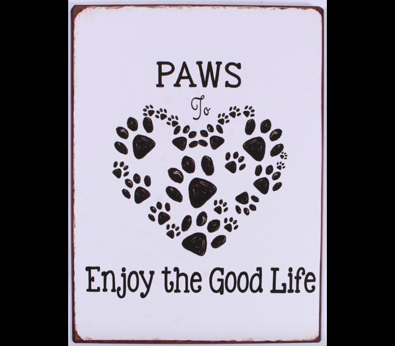 Paws to enjoy the good life