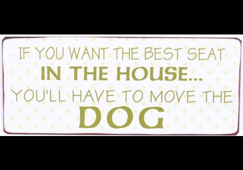 BEST SEAT DOG