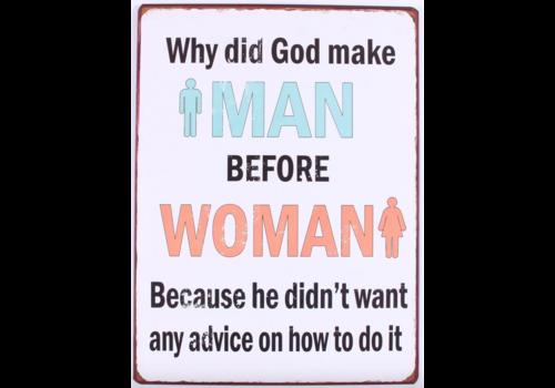 WHY DID GOD