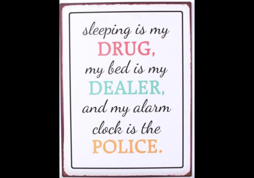 SLEEPING IS MY DRUG