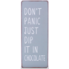 Don't panic just dip it in chocolate