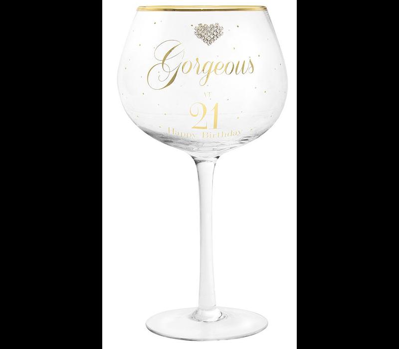 GIN GLAS GORGEOUS 21