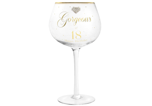 GIN GLAS GORGEOUS 18