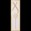 WONDERCANDLE LETTER X