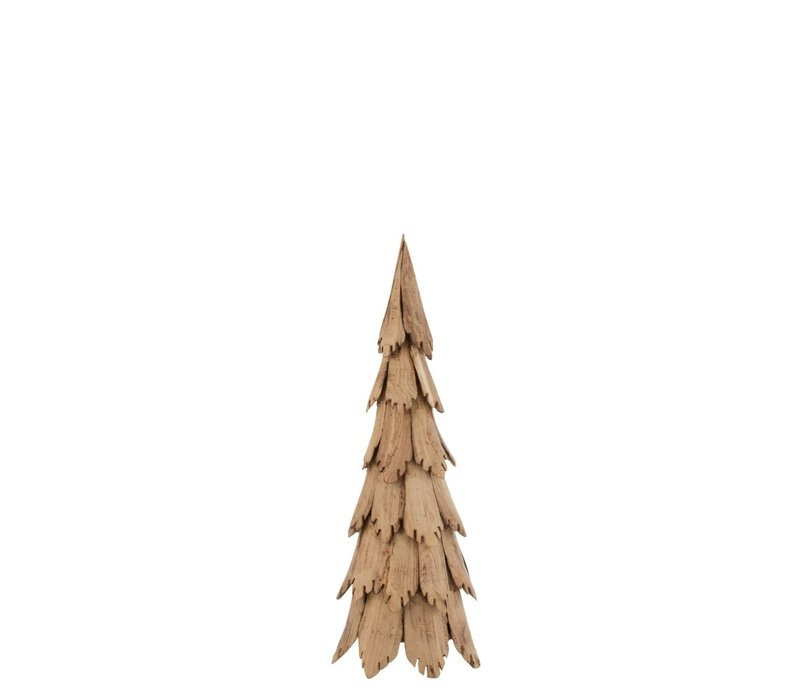 KERSTBOOM NATUREL HOUT SMALL