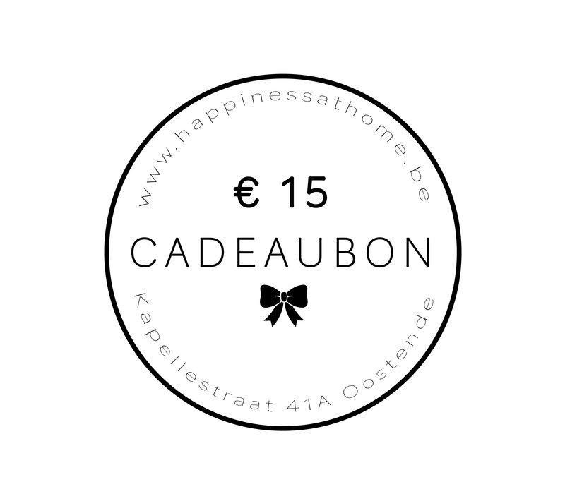 € 15 CADEAUBON