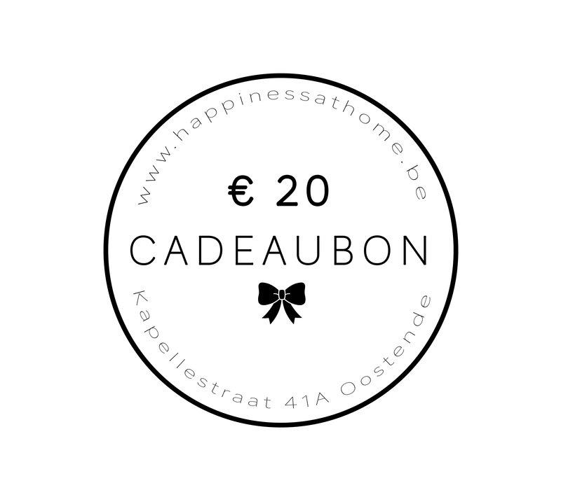 € 20 CADEAUBON