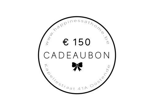 € 150 CADEAUBON