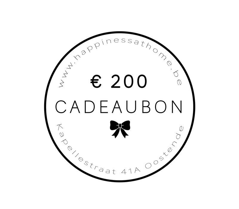 € 200 CADEAUBON