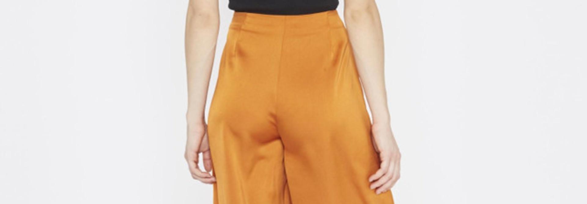 Tuttifrutti wide pant Copper Orange