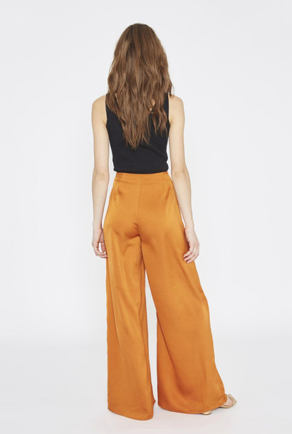 Tuttifrutti wide pant Copper Orange
