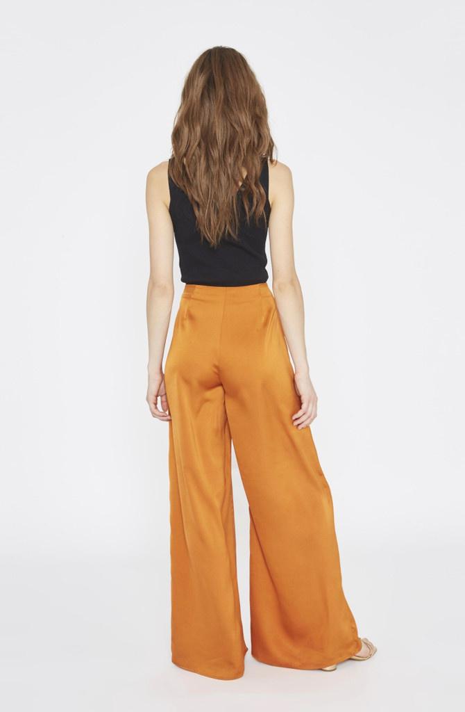 Tuttifrutti wide pant Copper Orange-1