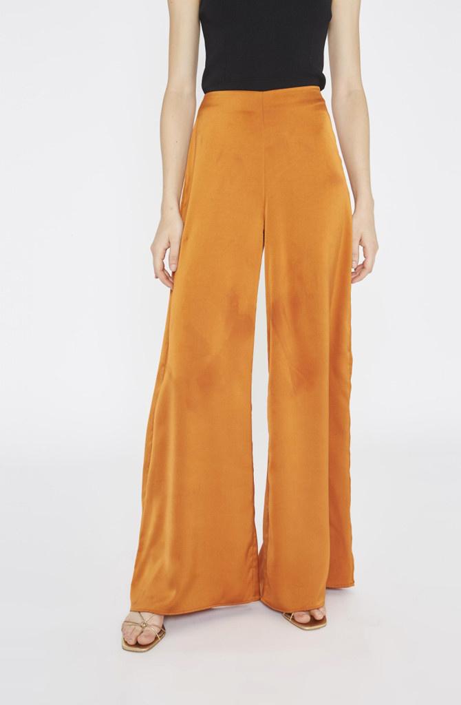 Tuttifrutti wide pant Copper Orange-2