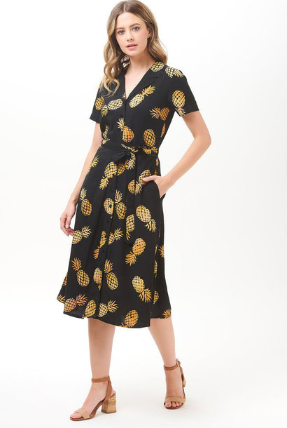 Kendra shirtdress Batik Pineapple