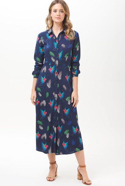 Clarissa shirtdress Paradise