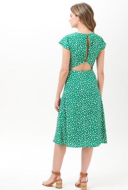 Xanthe midi dress Green