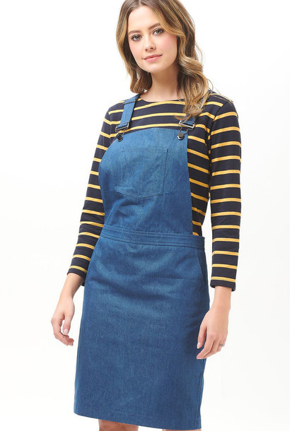 Toni dungaree dress Denim
