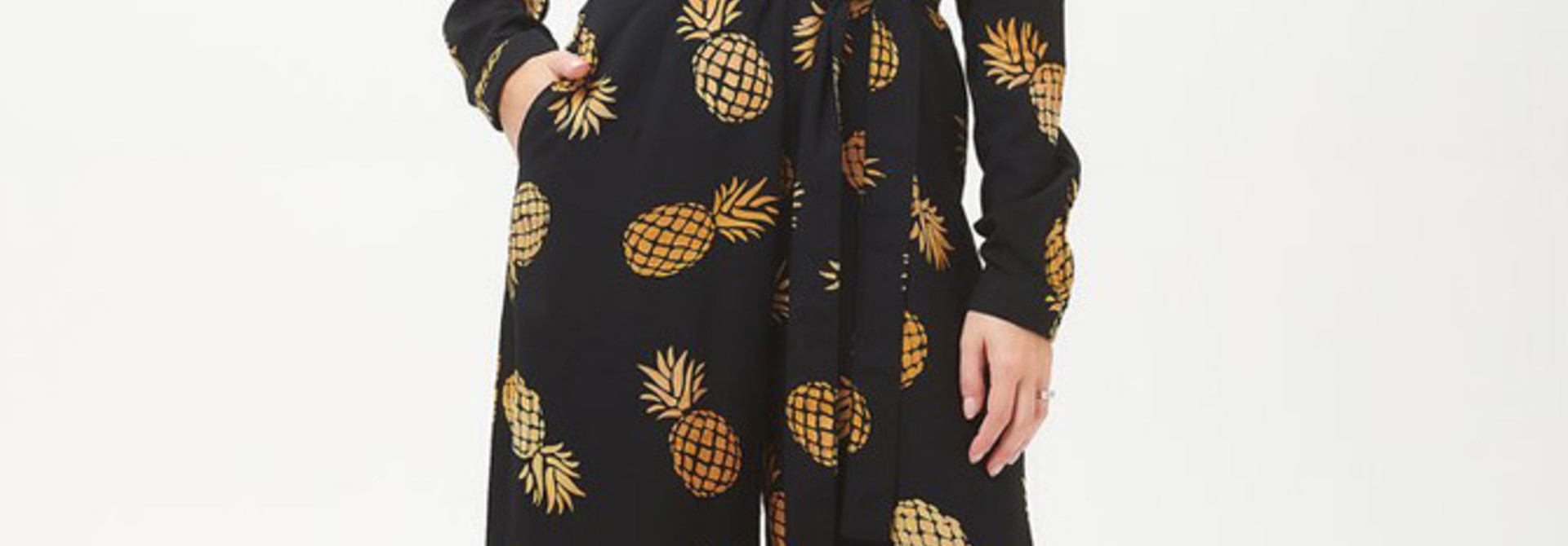 Sienna jumpsuit Batik Pineapple