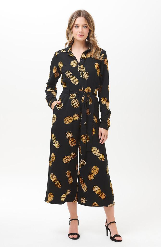Sienna jumpsuit Batik Pineapple-1
