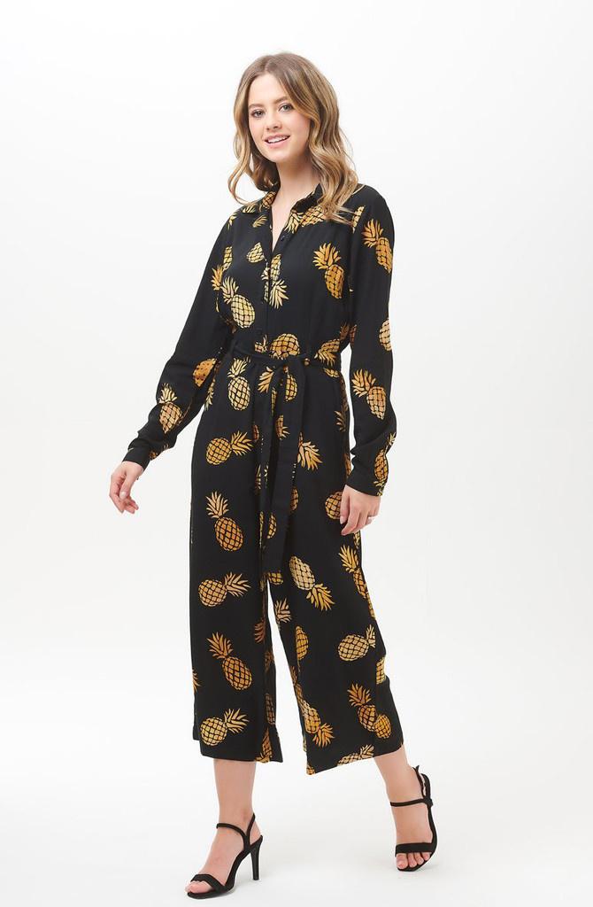 Sienna jumpsuit Batik Pineapple-4