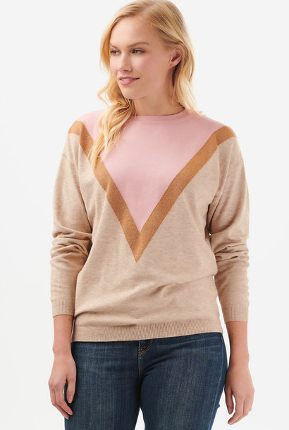 Lally sweater Dusky Pink