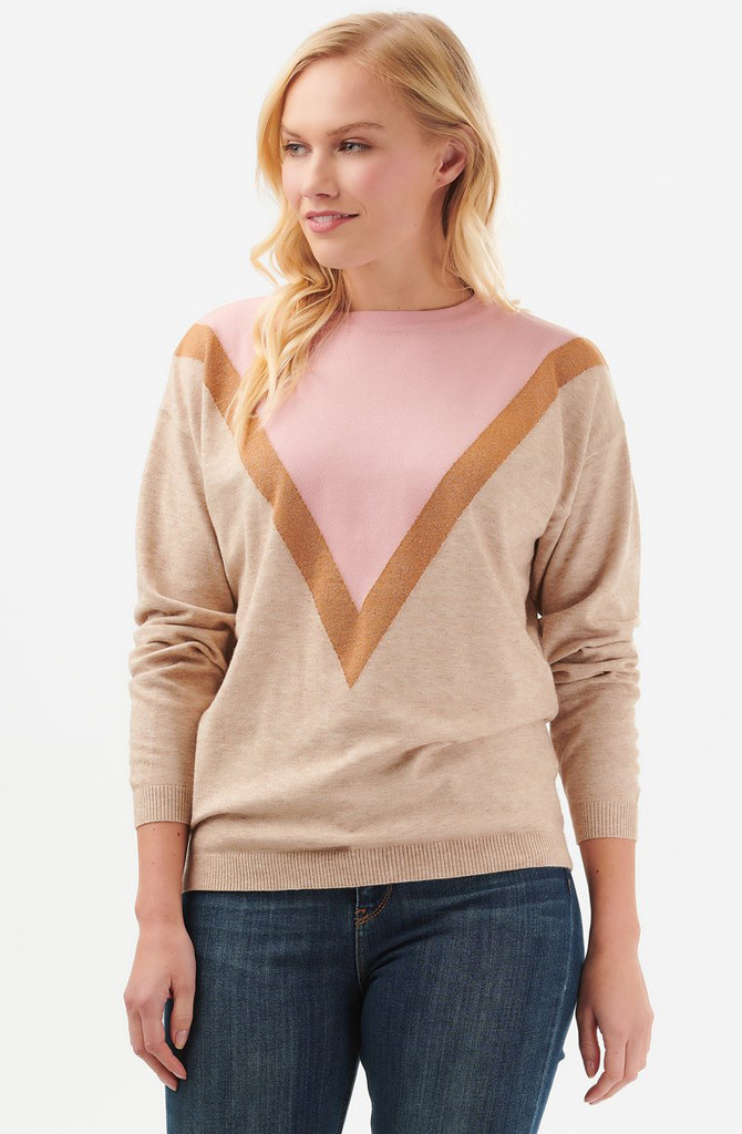 Lally sweater Dusky Pink-1
