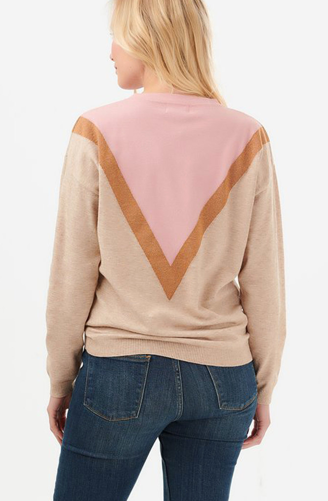 Lally sweater Dusky Pink-2
