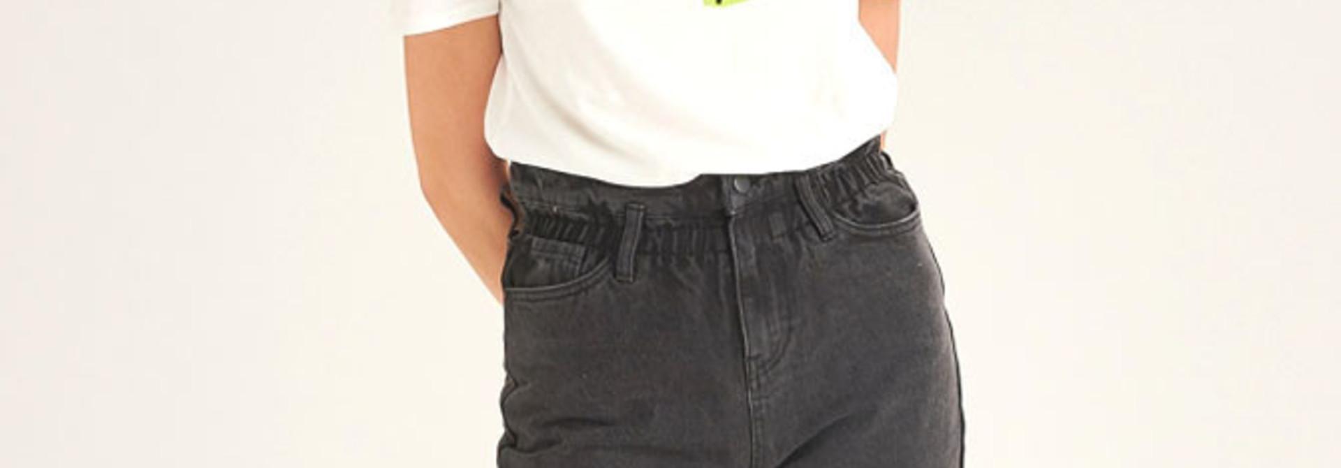 Texa paperbag Black Jeans
