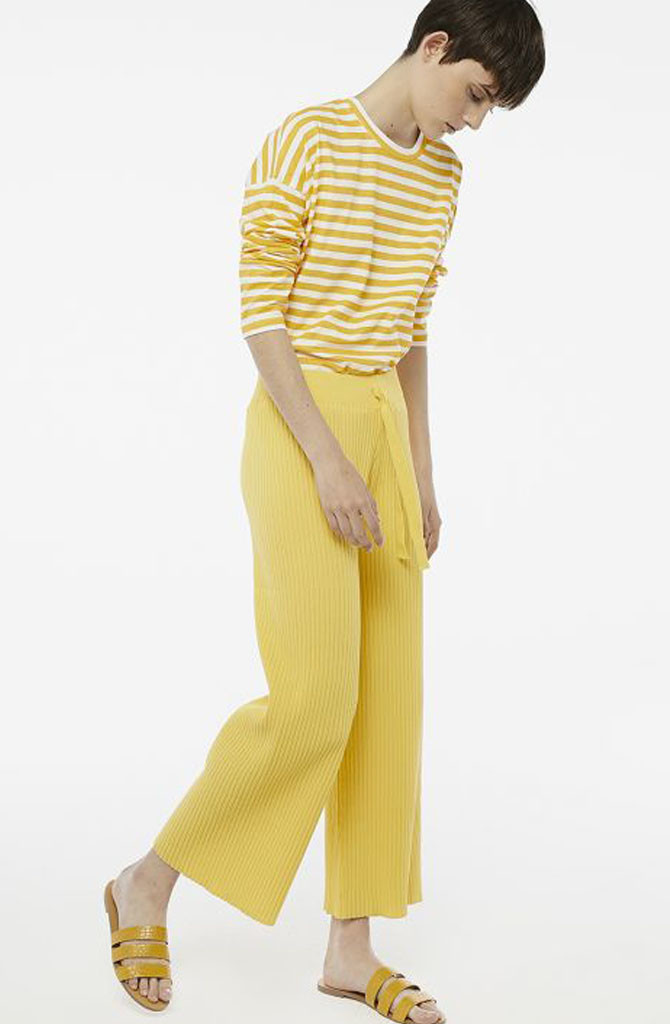 Gaëlle knitted pant Yellow-5