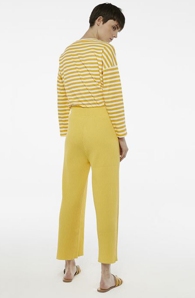 Gaëlle knitted pant Yellow-7
