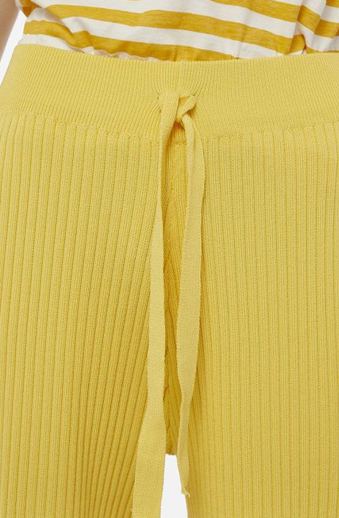 Gaëlle knitted pant Yellow-6