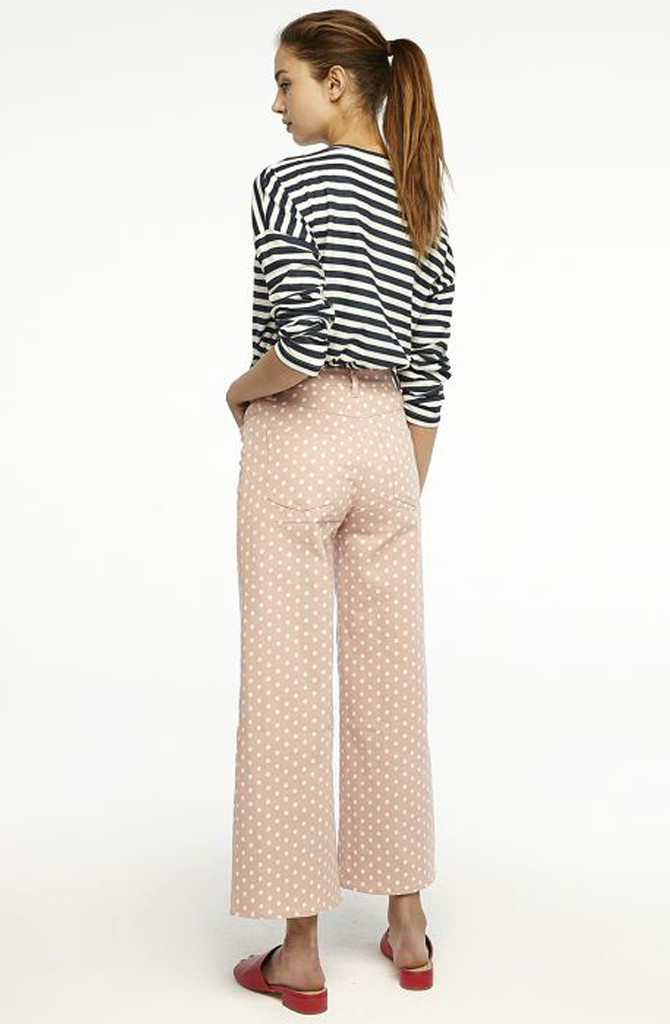 Cruz cropped pant Dot Pink-3