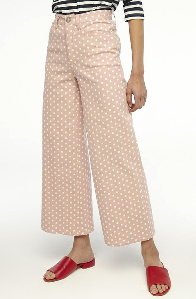 Cruz cropped pant Dot Pink-4