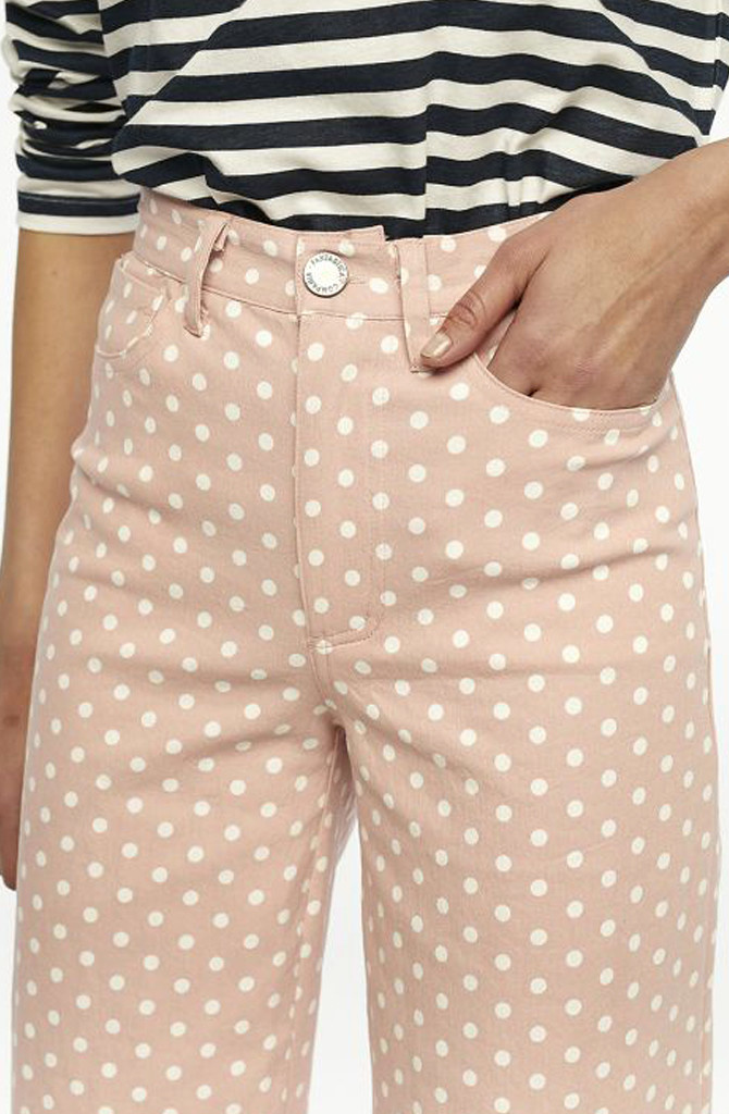 Cruz cropped pant Dot Pink-2