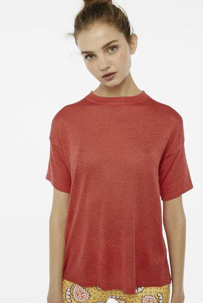 Danita t-shirt Red