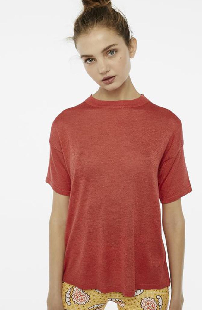 Danita t-shirt Red-1