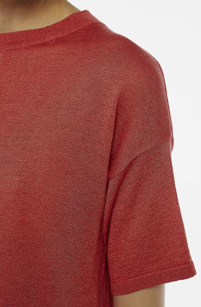 Danita t-shirt Red-2