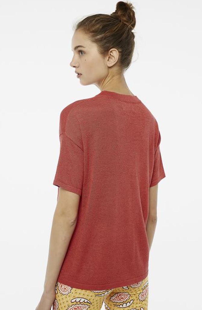 Danita t-shirt Red-3