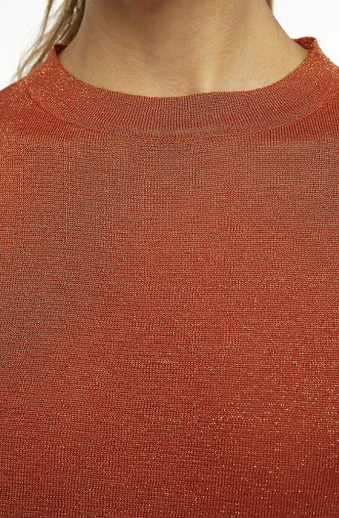 Danita t-shirt  Brown Chili-2