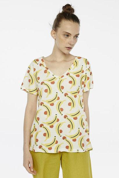 Chicita t-shirt Banan