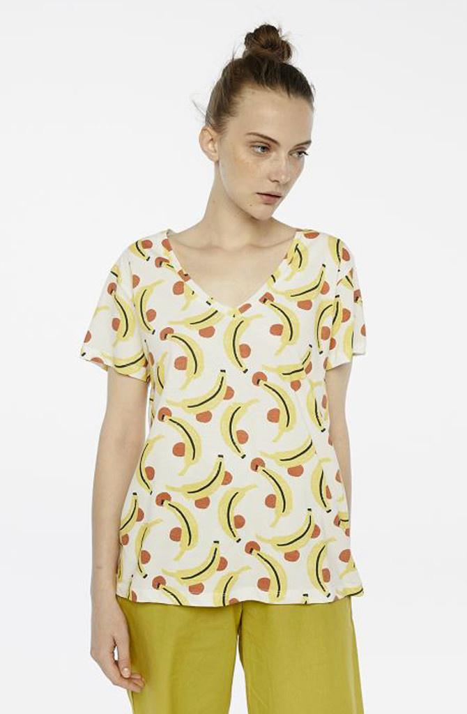 Chicita t-shirt Banan-1