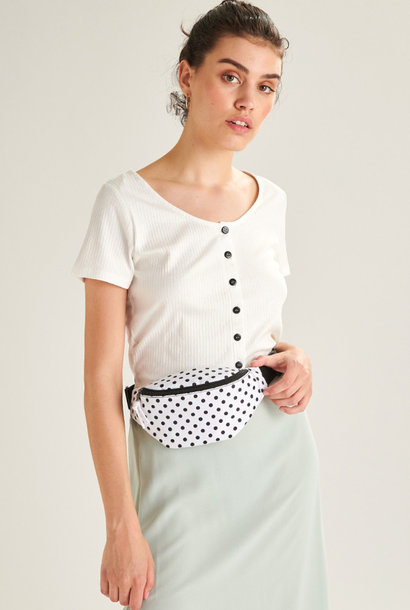 Bolras waistbag White Dots