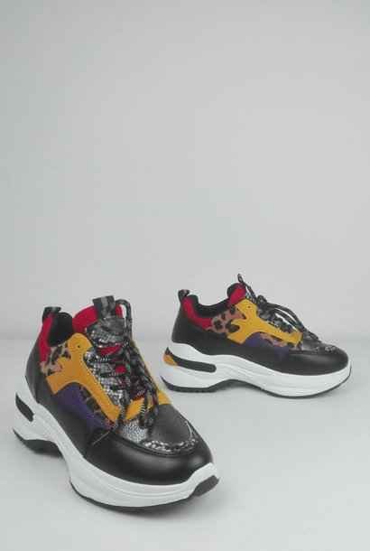 Delhwa sneakers Black
